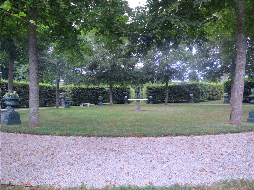 Château de Vaire le Grand 2013 Cabinet de verdure
