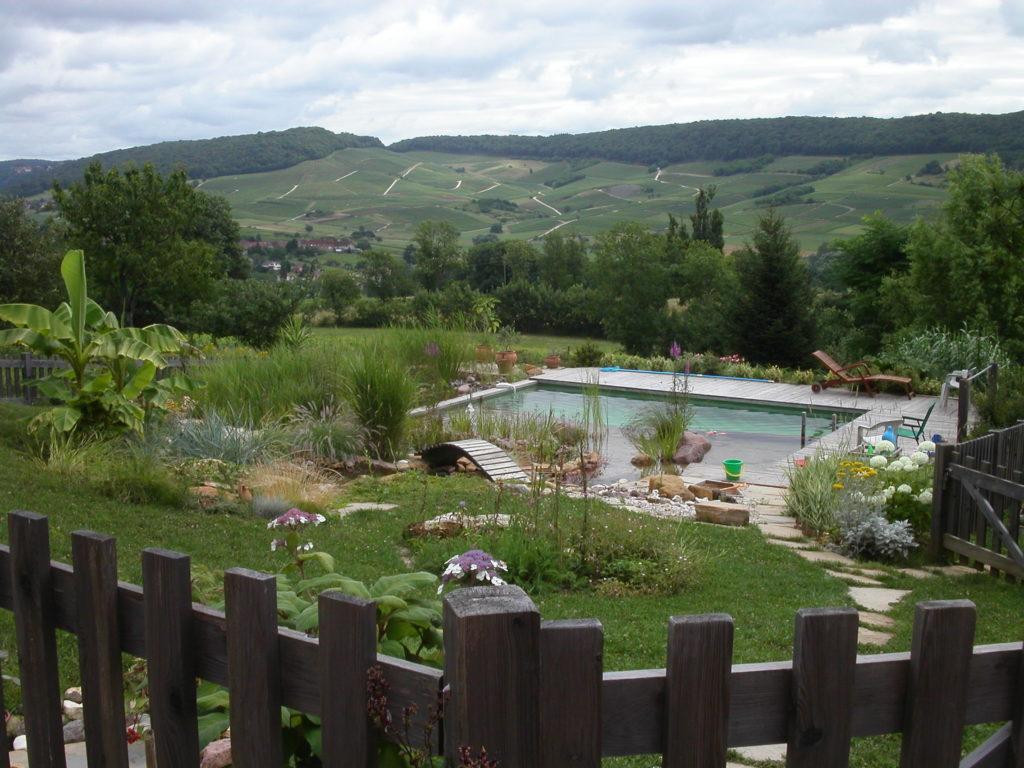 jardin En Boillot piscine