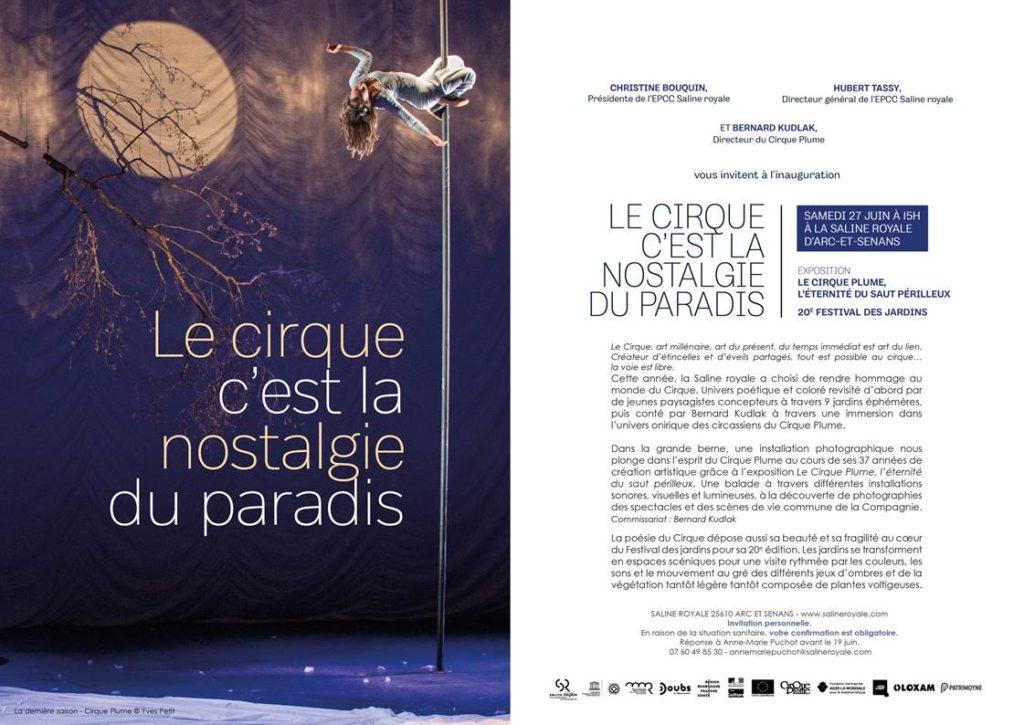 le cirque c'est la nostalgie du paradis